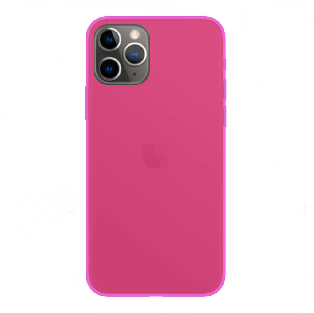 TPU Case Cover PINK SMOOTH MATT for APPLE IPHONE 11 PRO ...